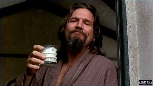 the big lebowski bademantel